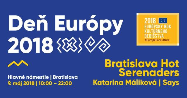 Journée de l'Europe 2018 à Bratislava