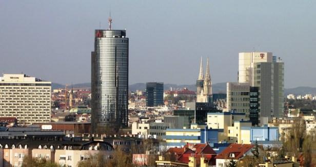 La capitale Zagreb propose de meilleurs salaires que le reste du pays, un avantage de 140 euros