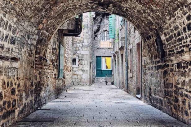 Le centre ville de Split