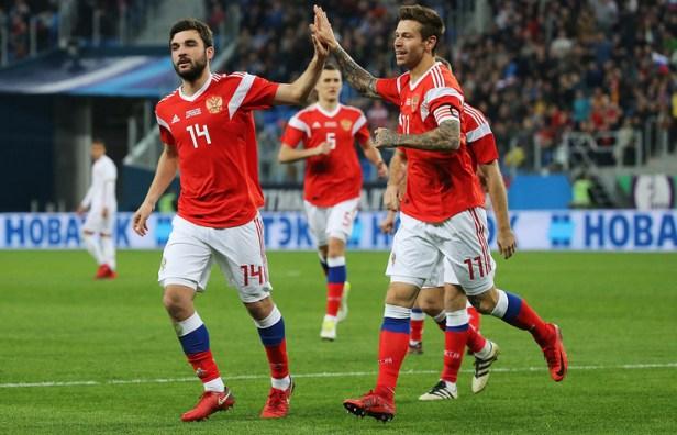 La performance de la Russie a aidé l'équipe à catapulter 21 places à la 49ème place, ce qui en fait le plus gros mouvement par rang, selon le tableau mis à jour de la FIFA jeudi.