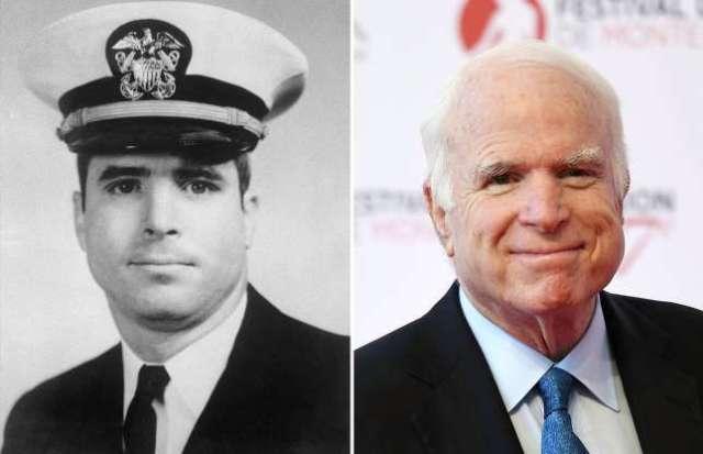 Né dans une famille de militaires le 29 août 1936 au Panama, John McCain a suivi la tradition familiale en rejoignant la marine américaine. Pendant la guerre du Vietnam, il fut capturé par les forces nord-vietnamiennes et prisonnier de guerre de 1967 à 1973. Il resta dans la marine après sa libération, mais entra rapidement en politique et devint ensuite membre du Congrès puis sénateur du état de l'Arizona. En 2008, il était le candidat républicain à la présidence mais a perdu les élections à Barack Obama. À l'âge de 80 ans, il a remporté son sixième mandat au Sénat en 2016.