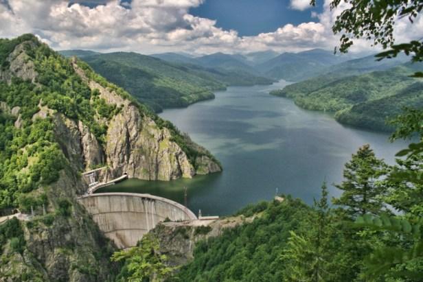 Le barrage de Colibita