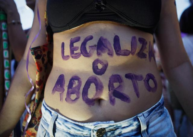 Brazil-Abortion-Protest
