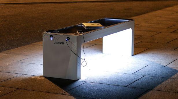 Croatian smart bench