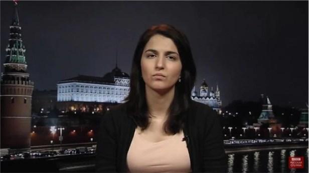 Farida Rustamova, journaliste de service à la BBC Russie