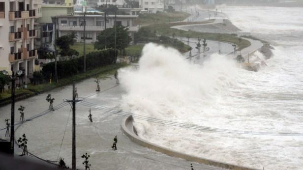 Cimaron est le deuxième typhon à s'approcher de l'archipel japonais cette semaine.