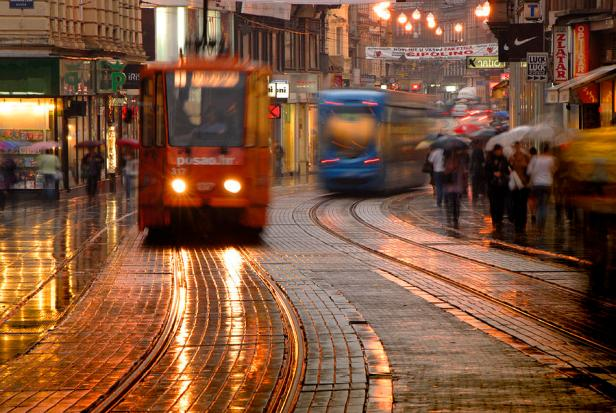 Zagreb a reçu le score le plus élevé de l'indice pour le bonheur (6,8 / 10).