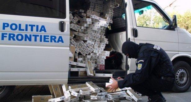 La région du nord-est de la Roumanie continue d'être la plus touchée par le commerce illégal de cigarettes.