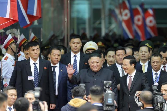 Kim Jong Un Hanoi