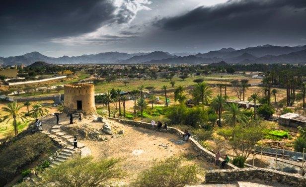 Bidiya fort in Fujairah, UAE
