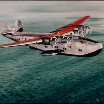 Pan American Boeing 314 Clipper Flying Boat. (Photoby: GHI/Universal History Archive via Getty Images)