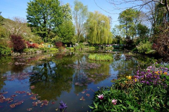 Le jardin inspiré de Giverny et Monet