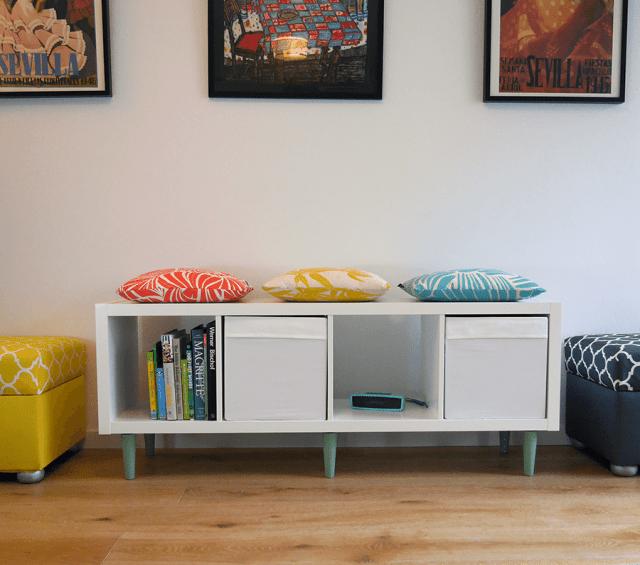 legheads-IKEA-kallax-white-green-wide