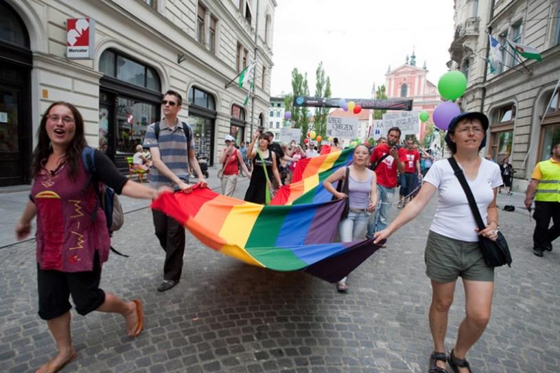 La Slovénie classée entre l'Allemagne et le Luxembourg pour la sécurité des voyageurs LGBT +