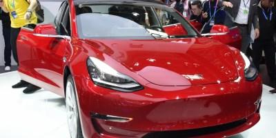 Premier Tesla Model 3 fabriqué en Chine