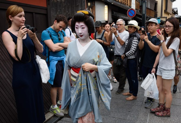Images Of Kyoto Tourism As Tourist Influx Helps Japan's Economy Amid Weak Local Demand