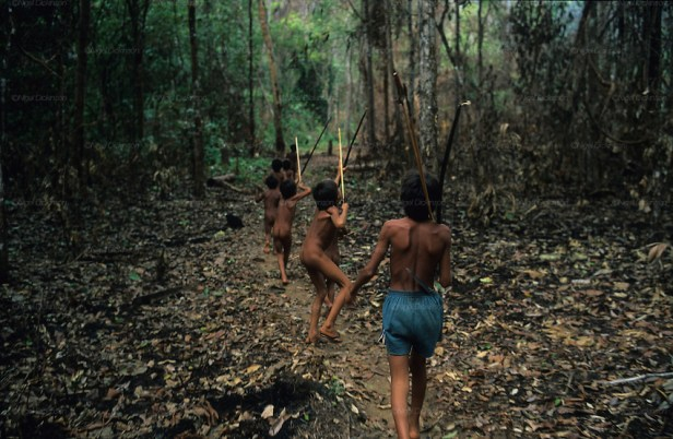 Yanomami indians, Amazon, Brazil