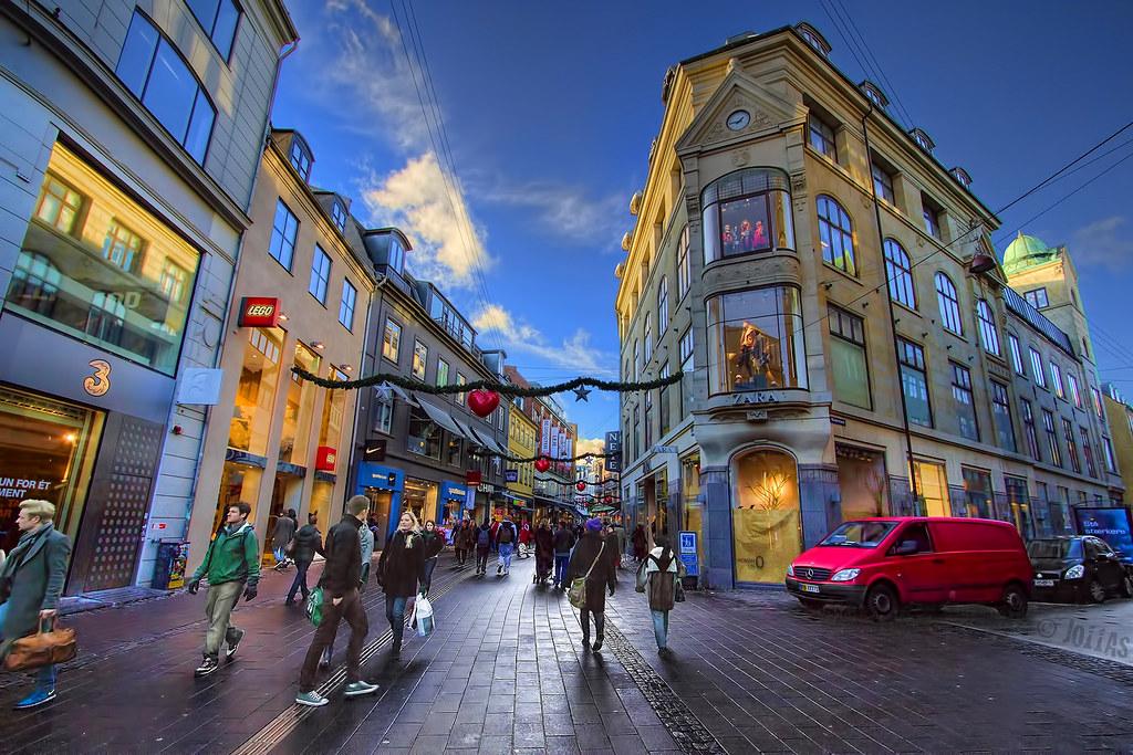 Copenhague bannit les trottinettes électriques du centre-ville Danemark.