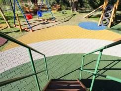 Piso Emborrachado para Playground - Duplo T Colorido