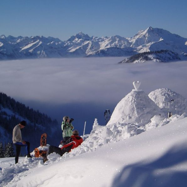 Germany-Höllschlucht-trekking snow - 1024 x 768