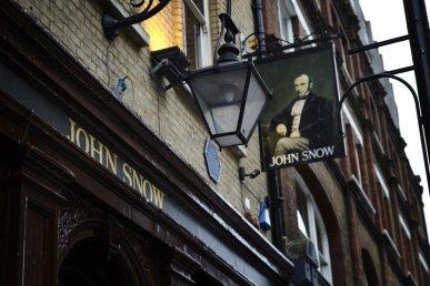 London Soho John snow