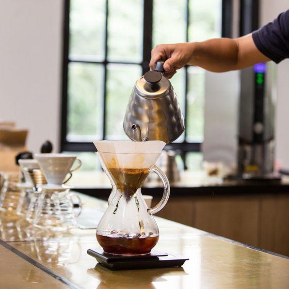 Watch the baristas prepare coffee Vietnam