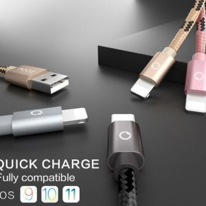 USB Apple Iphone Lightning Certificado Quick Charge