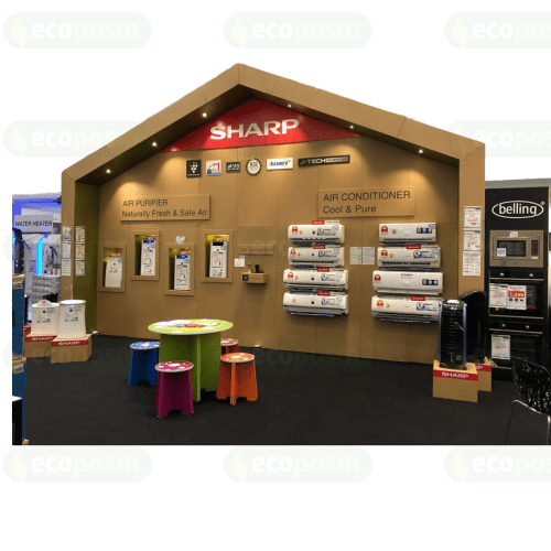 Corrugated Exhibition Booth