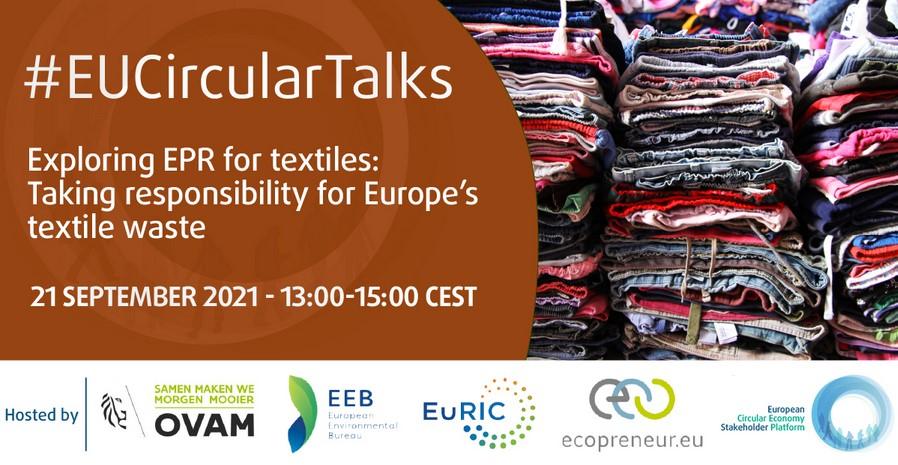 Exploring EPR For Textiles – Join The EU Circular Talk