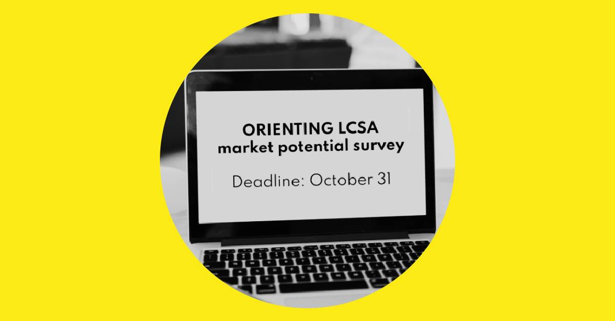 How To Make A Future LCSA Work? Your Opinion Counts!