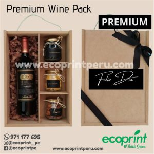box caja con vino frutos secos regalo personalizado regalos premium corporativo ecoprint peru lima
