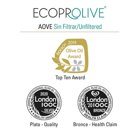 Premios - AOVE Sin Filtrar - Ecoprolive