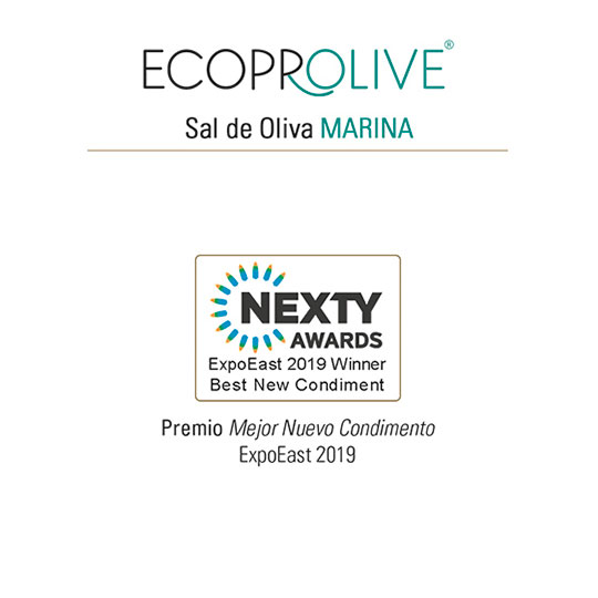 Premio - Condimentos de Oliva MARINA - Ecoprolive