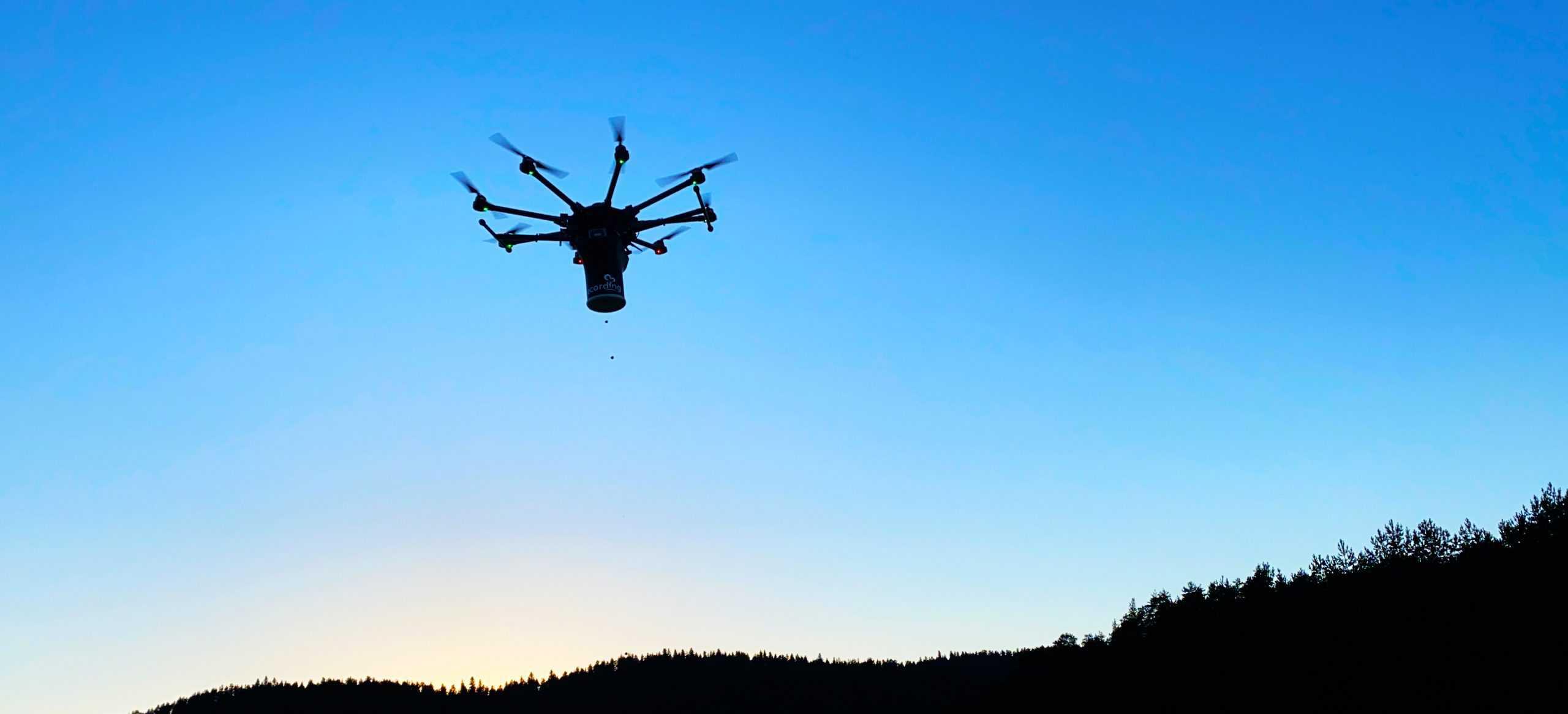 drone havada