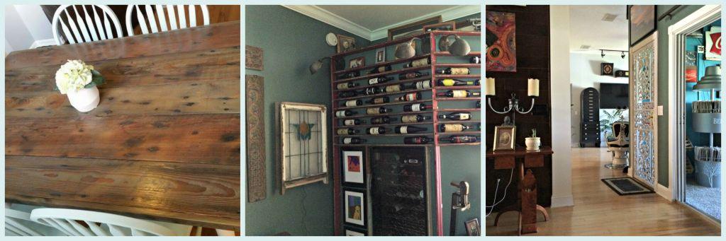 Table, Wine Rack, Security Door