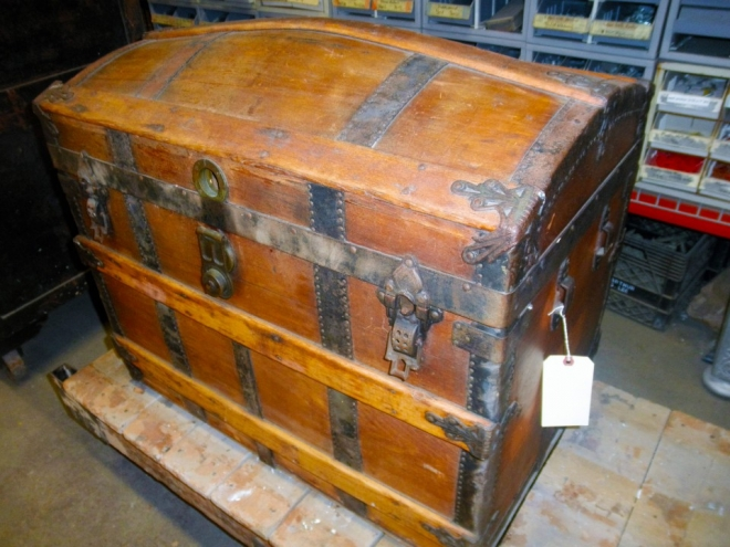 Beautiful Steamer Trunk