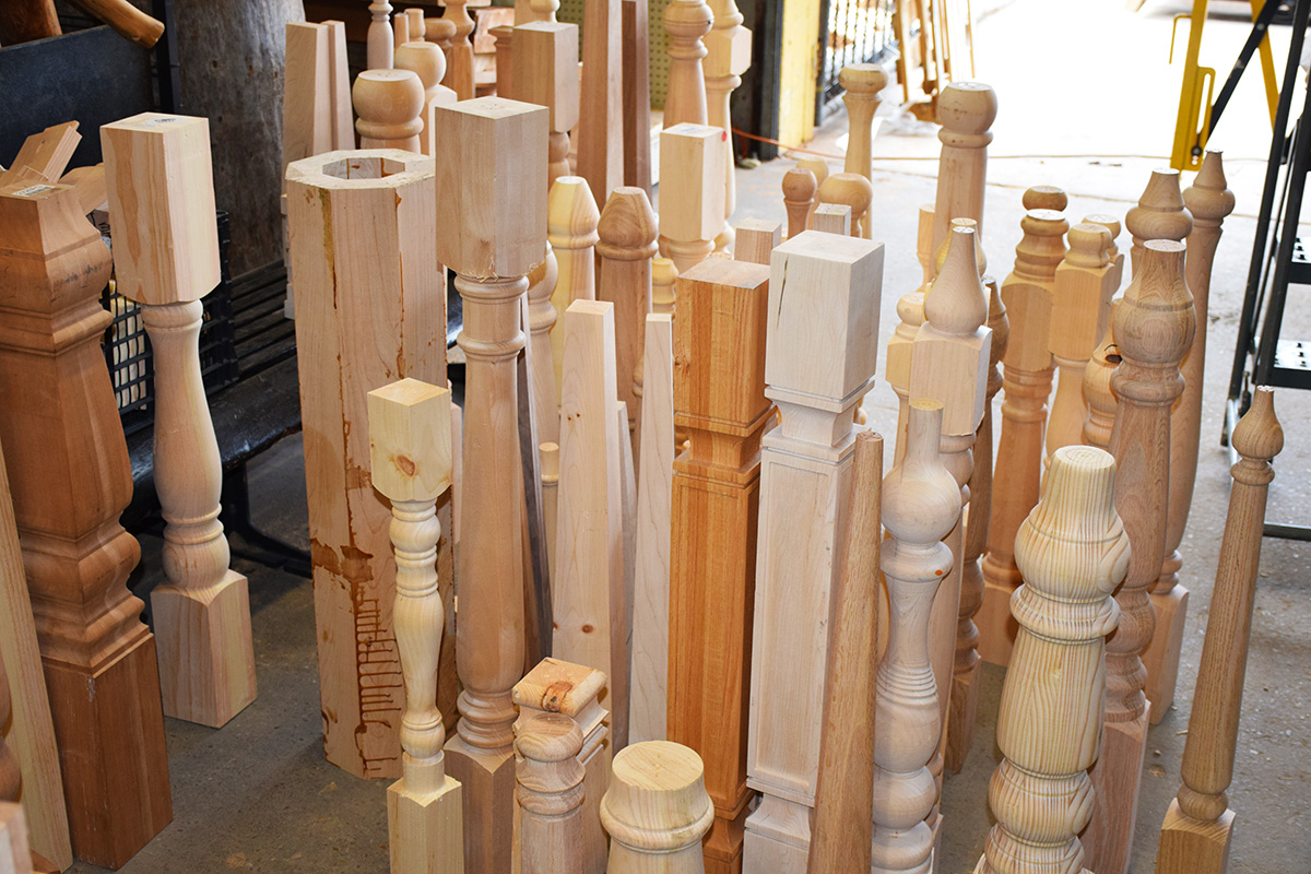 Spindles And Corbels