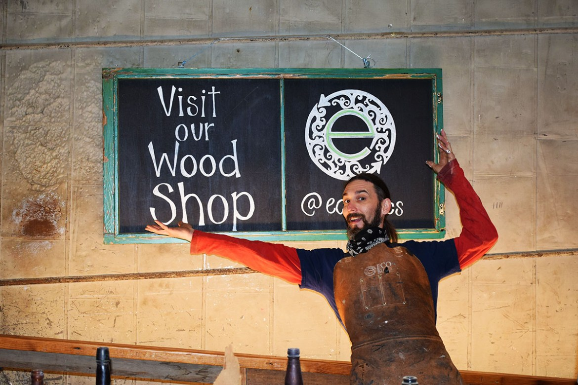 An open invitation to come visit Billy in our Custom Wood Shop!