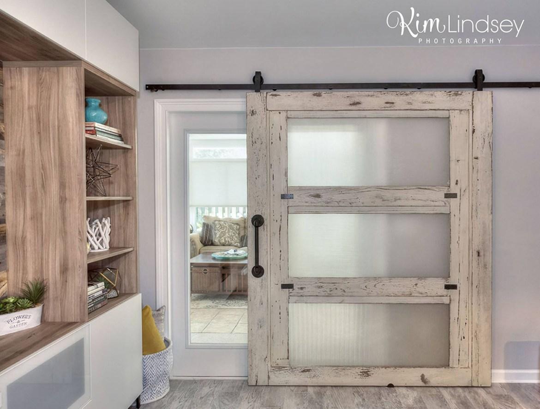 Custom Barn Door by Billy Leeka for Level Up Design