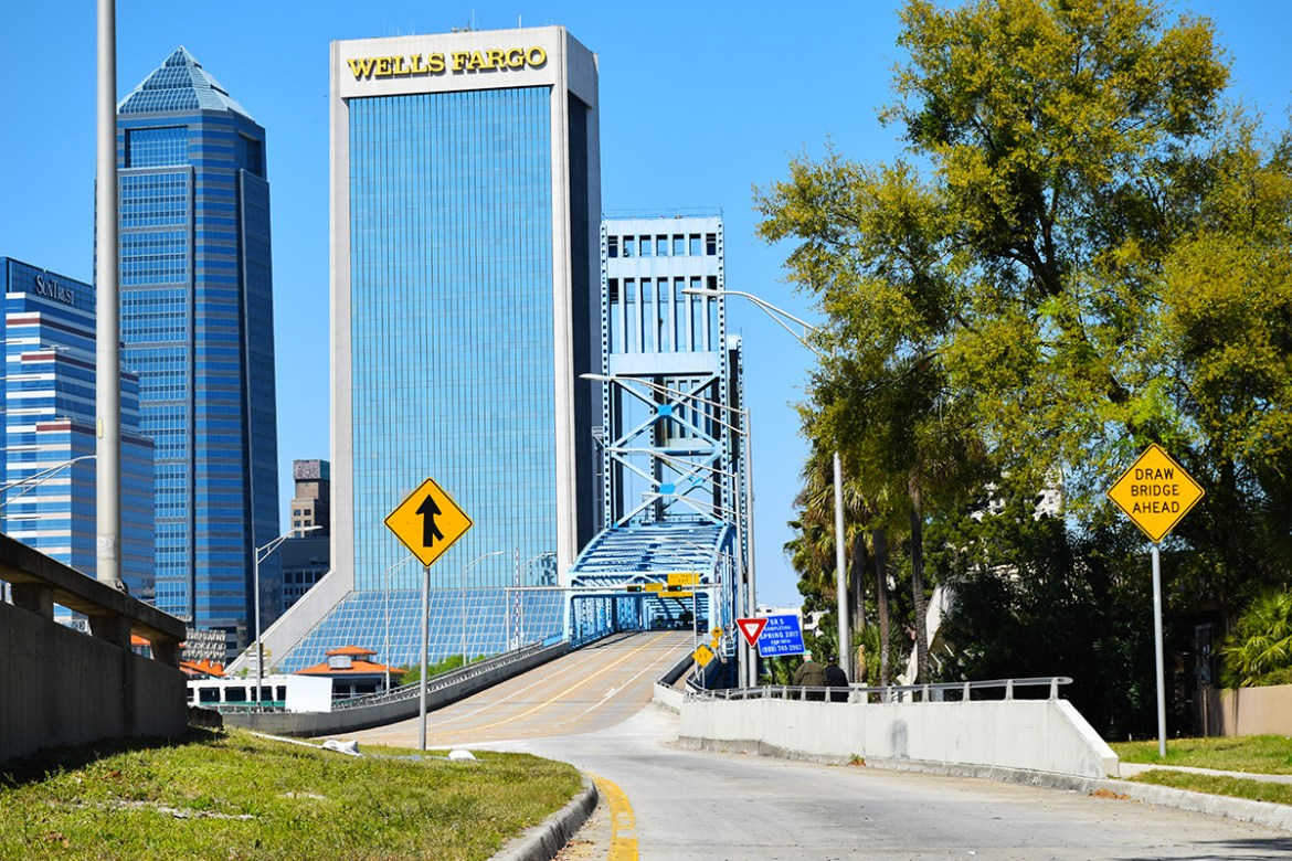 Jacksonville Main Street Bridge Southbank March 2017