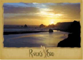 River's End postcard