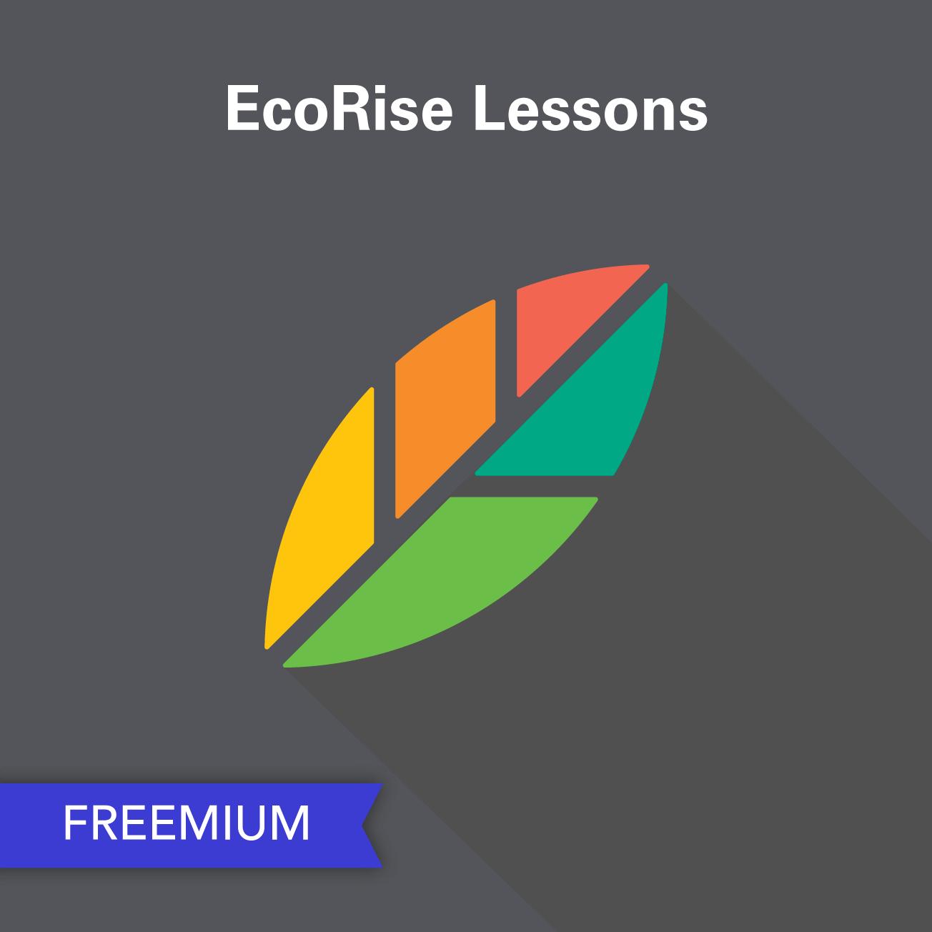 Ecorise Freemium Lessons