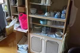 ミニ食器棚の回収