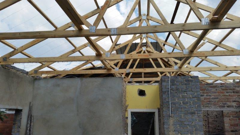 Eco roofing projects designing manufacturing for Prefabricated wood trusses