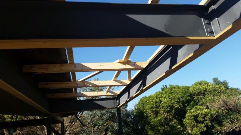 Custom roof trusses