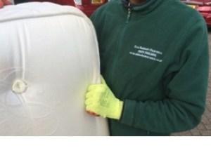 mattress disposal london - removal - old mattress pick up