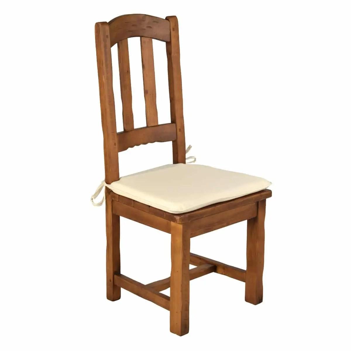 Silla alta rstica asiento de madera Ecorstico venta de