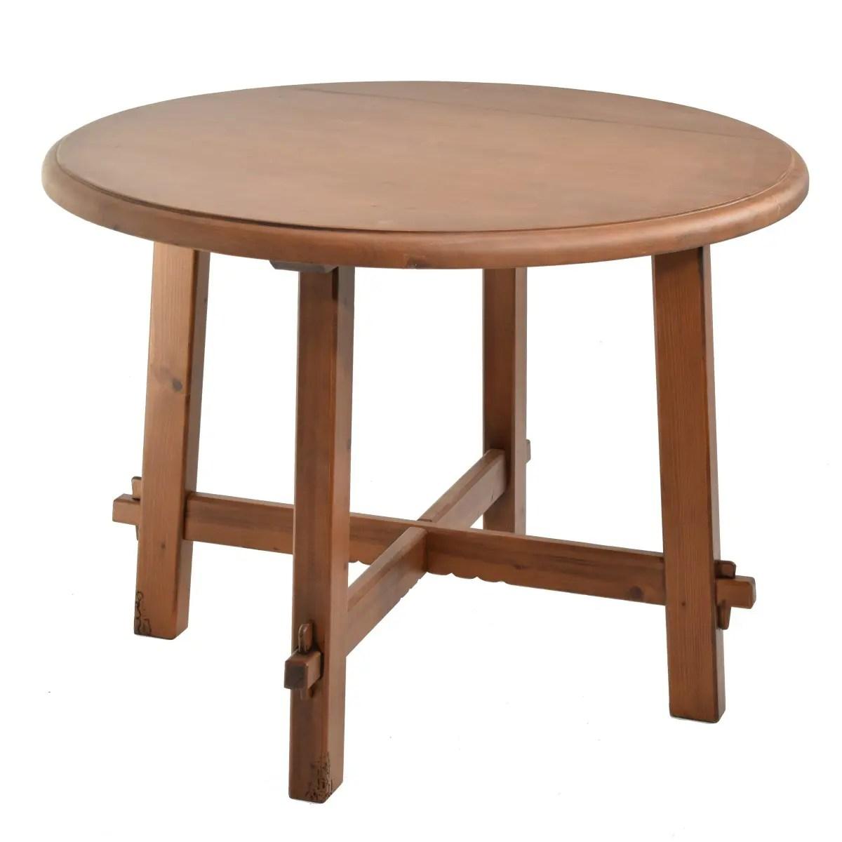 Mesa rstica redonda Ecorstico venta de muebles