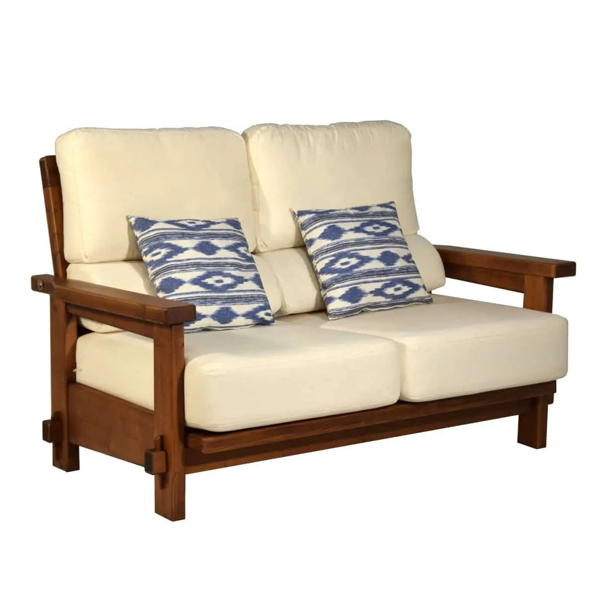 Sof rstico dos plazas 148 Ecorstico venta de muebles
