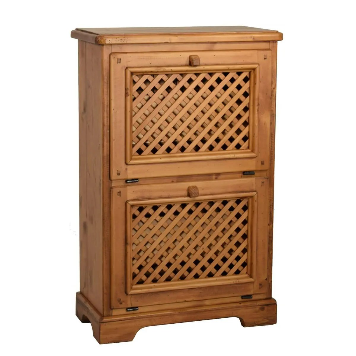 Zapatero rstico de madera Ecorstico venta de muebles